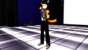 MMD Newcomer Dave Okatsune by Pokeluver223
