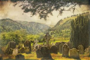 Glendalough Heritage Site by Flash-and-Flair