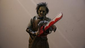 Looking at me I'm leatherface!!!!! by slasherman