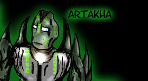 Silver-green Artakha by Vahki530