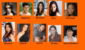 My House of Night Cast Part 4 by Lyne-Chan