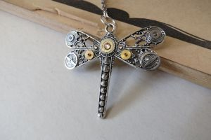 Steampunk Dragonfly 2 !! by LsUnique