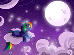 Rainbow Dash by BloodRedGin