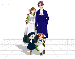 Hetalia MMD Models - Austria's House by midnightsong22