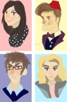 Doctor Who Doodles by ohlookitsruchi