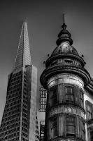 Transamerica and Victorian by spudart