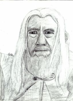 Gandalf the White by AinuLaire
