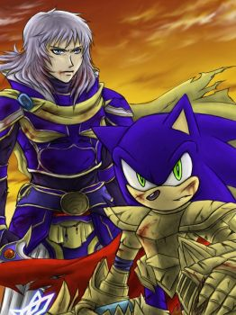 Sonic and WOL:After battle by maruringo