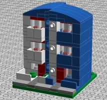lego post-modernist building 01 again by trc66