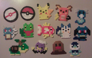 PKMN: Fuse Beads by LaPopeArmadillo