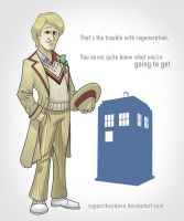 5th Doctor by SupaCrikeyDave