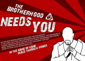 The Brotherhood needs you. by Adder24
