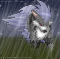 Wigthney - Arcanine by Niny-Chan