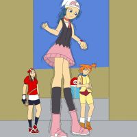 Pokemon Giantess 1 by Final7Darkness