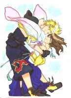 Tidus X Yuna by ClaireRoses