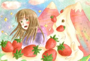 Strawberry avalanche by franflipay