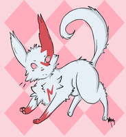 Cute Zangoose by vanilla-dog