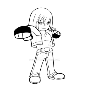 CHIBI COMMISSION EXTRA - TERRY BOGARD by Shight