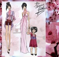 Fashion of the Cherry Blossom Festival by GL-Gloria