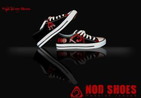 Freaking Nod shoes by Adder24