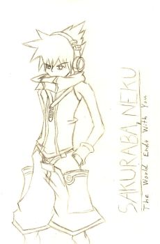 Neku Sakuraba by AuraWing07
