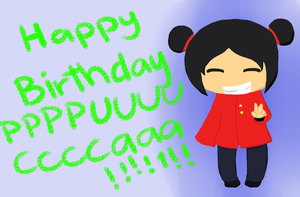HAPPY BIRTHDAY PUCCA!!!!!!11!!!1!!! by RoflAndrea