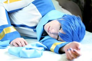 VOCALOID Kaito cosplay by lucky-pain