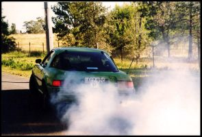 Rx7 burnout by besok