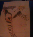 Pouncival Drawing by ShannonJadex