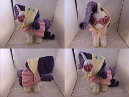MLP Camping Rarity Plush (commission) by Little-Broy-Peep