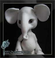 Elli the Elephant by TheMushroomPeddler