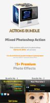 Mixed Photoshop Actions Bundle by hazratali2020