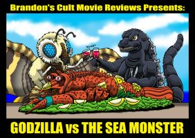 Godzilla vs The Lobster Dinner by Enshohma