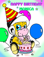 Happy Birthday Monica by Nintendrawer