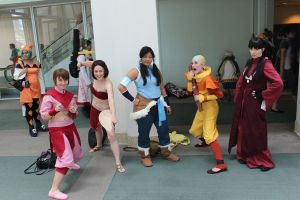 Avatar Cosplay Group by OPlover