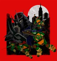 Turtle Boys Don't Cut 'em No Slack! by DaveSong