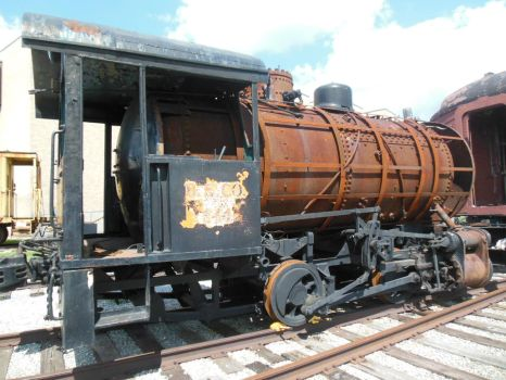 Bethlehem Steel Fireless 111 Awaiting Restoration by rlkitterman