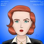 MugShot 20160215: Scully by Dragonfly177