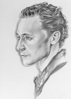 Tom hiddleston by Victoria-K