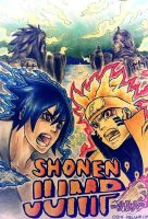 NARUTO and SASUKE (Shonen Jump) by studioodin