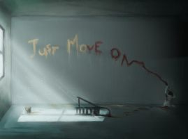 Just Move On by paintausea