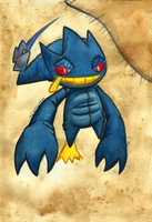 Ghost Month - Banette by The-Spikey-Mouth