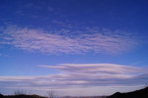 Blue sky ardeche france by Nicothelord