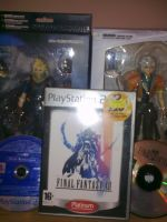 Some of my Final Fantasy stuff by Cloud-Strife-FF-VII