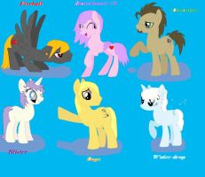 MY real mlp group by meowmew3