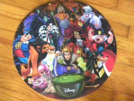 my disney villains puzzle is done by Kingdomhearts1994
