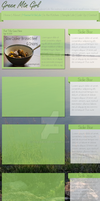 GreenMtnGirl.com Redesign by NyaShass