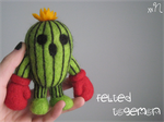 Felted Togemon by xxNostalgic