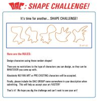 Shape Challenge Rules: 09-15-12 by JoeCostantini