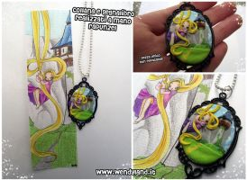 Tangled Cameo (now on auction on ebay) by Wendyland